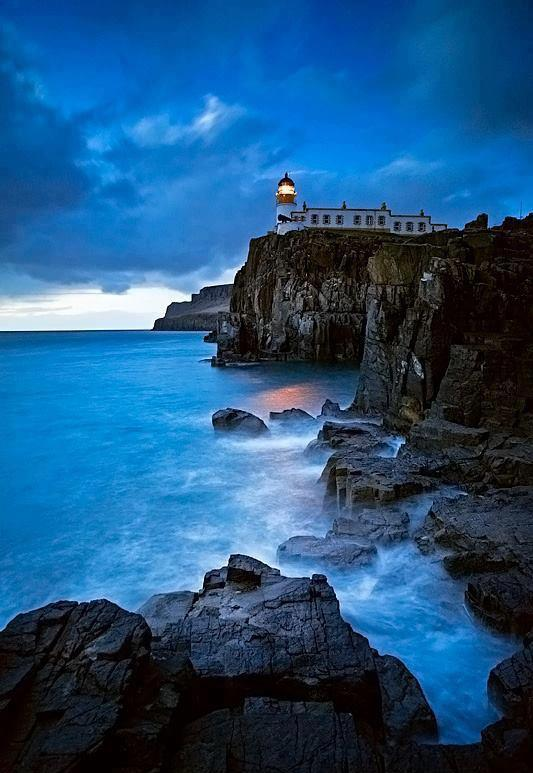 Angel Falls Wallpaper Showme Nan Neist Point Lighthouse Isle Of Skye Scotland