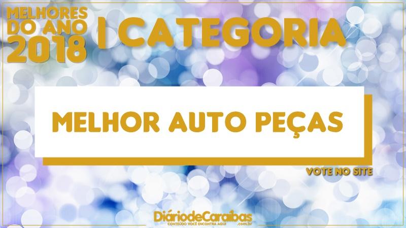 Vote na categoria melhor Auto Peças | Melhores do Ano 2018