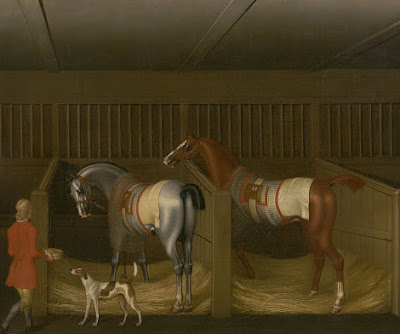 HORSES IN ART ~ FREEDOM VERSUS SAFETY