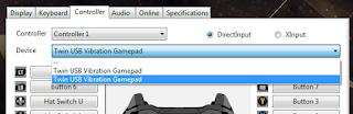 Cara Setting Dual Stick Di Game PES PC