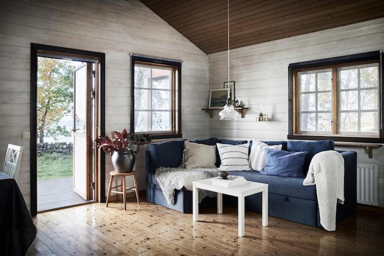 Island life: A Pared-Back Swedish Summer Cottage