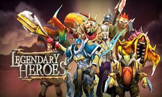 تحميل لعبة legendary heroes مهكرة للاندرويد 2018