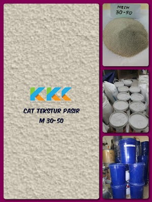 Cat Tekstur Pasir M 30-50 Kemasan Galon