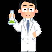 科学者のイラスト(男性)