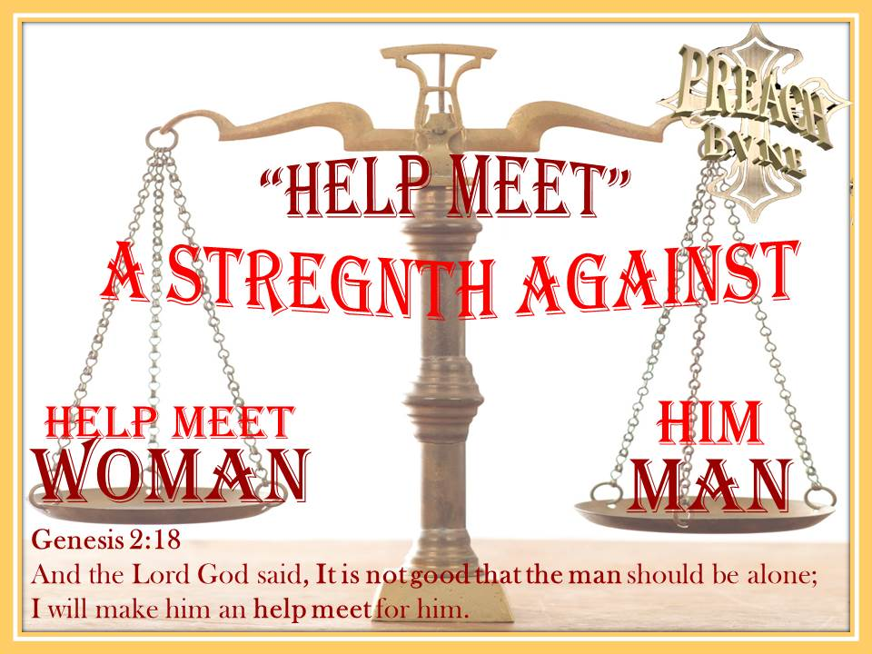 hebrew definition of help meet