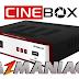 Cinebox Optimo Duo HD Atualização - 26/10/2017