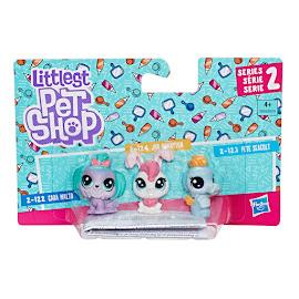 Littlest Pet Shop Series 2 3-pet Collection Jan Bunnyton (#2-124) Pet