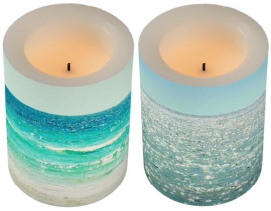 LED Ocean Candles