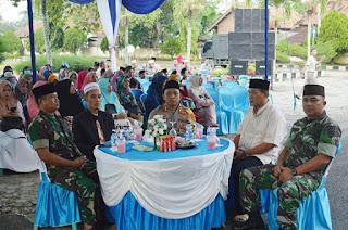 Jaga Kondusifitas, Polres Tulang Bawang bersama TNI dan Insan Pers Gelar Bukber