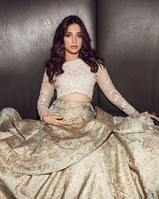 Actress Tamannaah poses for Aza Fashion magazine