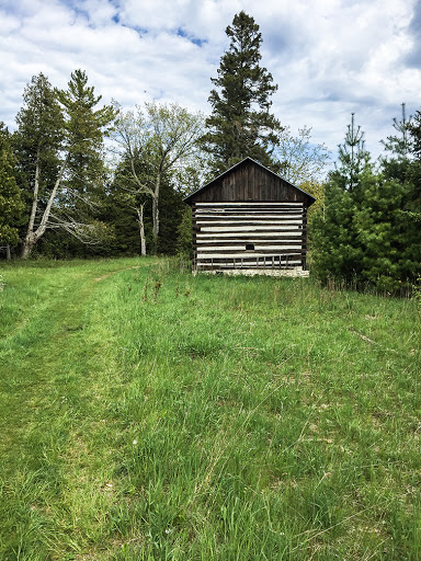 Abandoned Barn at Toft Point State Natural Area in Bailey's Harbor Door County