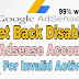 Apne Disable google ad-sense account Ko Kaise Recover kare Is tricks se