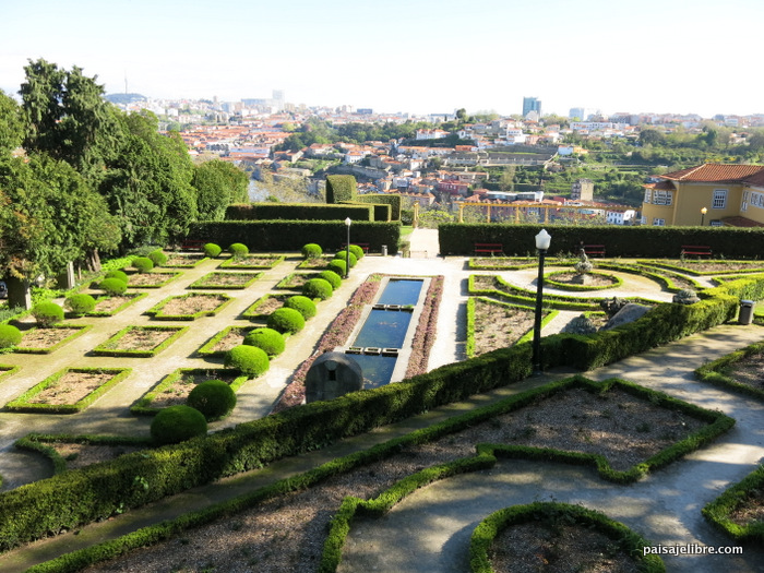 Jardines de oporto 2 jardines del palacio de cristal for Jardines del palacio de cristal oporto