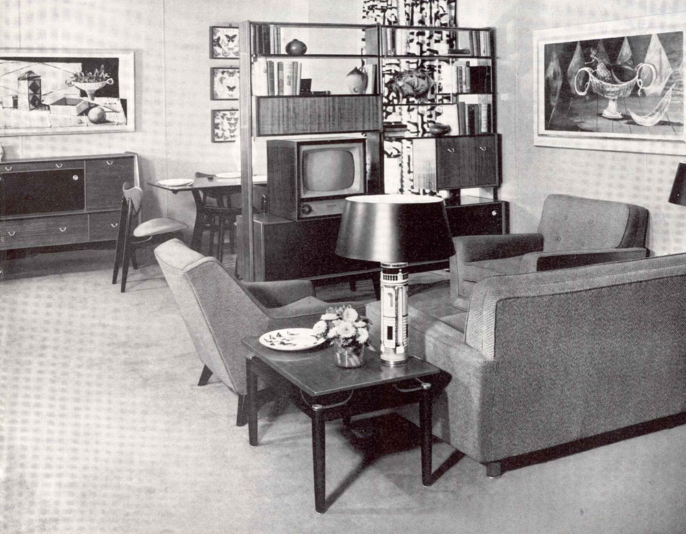 miss retro 39 s blog my dreams of a 1950s living room. Black Bedroom Furniture Sets. Home Design Ideas