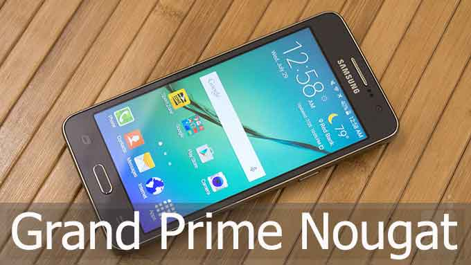 install android n pada grand prime