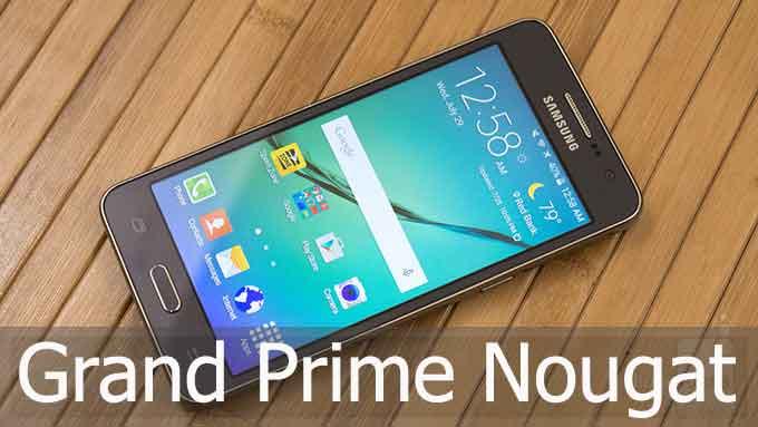 install android n pada grand prime