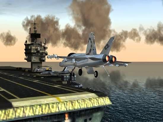تحميل لعبة F18 Carrier Landing الجديدة للكمبيوتر لعبة مجناية