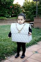 disfraz de bolso para niña