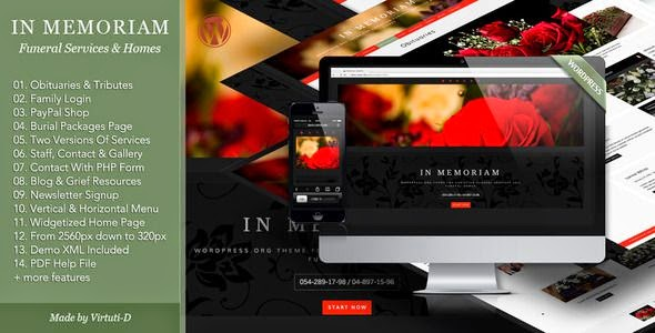 Best Funeral Services WordPress Theme
