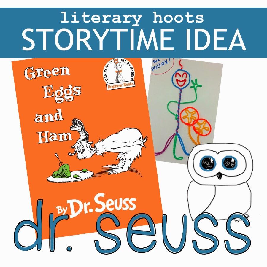 Stem School Springfield Ma: Literary Hoots: Storytime: Dr. Seuss