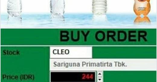 CLEO Karena Belanja Saham Adalah Hak Semua Orang