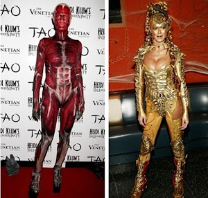 Costume parade: Heidi Klum's 13 crazy Halloween outfits