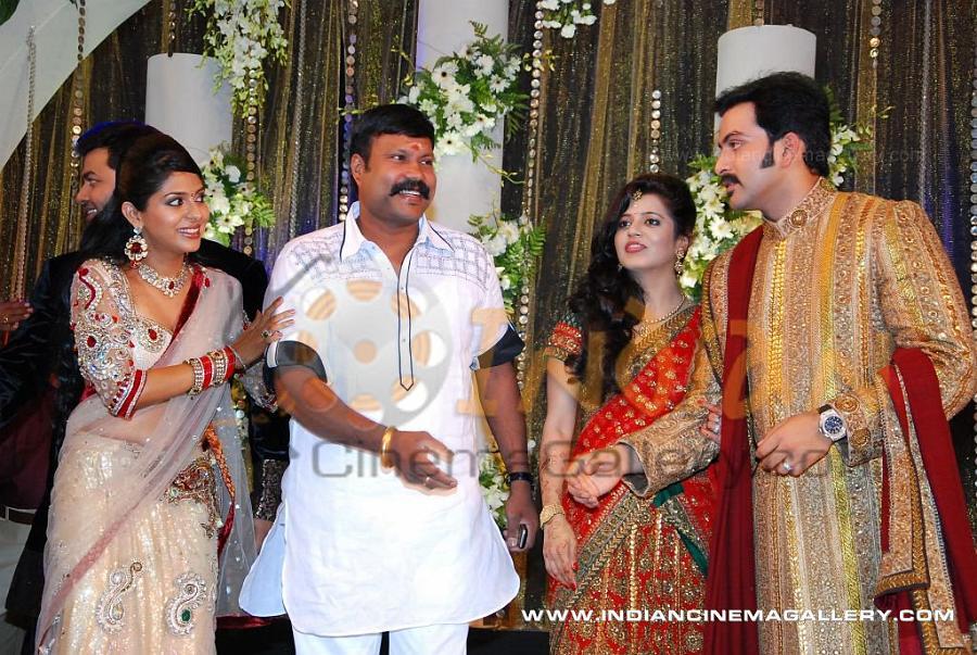 Prithviraj Wedding Reception Photos Stills