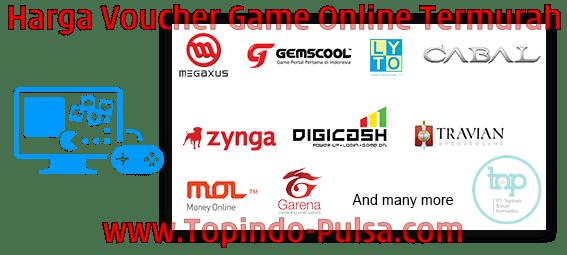 Topindo-Pulsa.Com Agen Pulsa Voucher Game Online Termurah