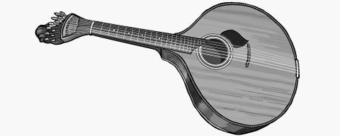 Portuguese guitar (Guitarra)