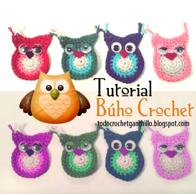 Como tejer búho crochet fácil tutorial en video