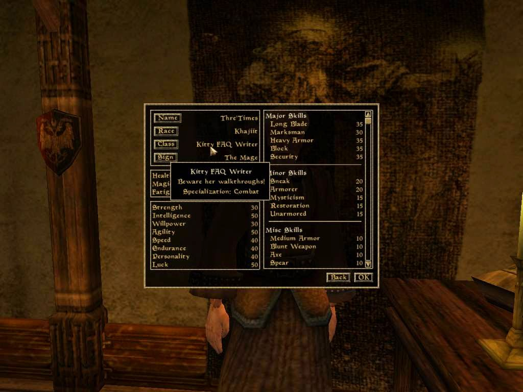 The Nocturnal Rambler: Morrowind Sucks, aka, Morrowind is