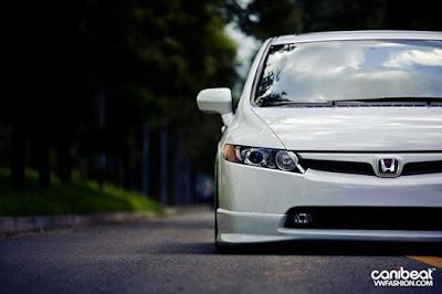Honda Civic Rebaixado Branco