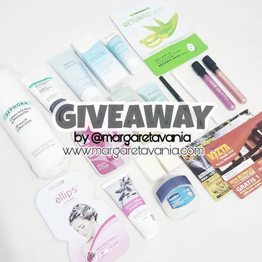 Giveaway : Skincare x Makeup Giveaway [INSTAGRAM ONLY] - Sephora, Wardah, Ellips, Vaseline, etc.