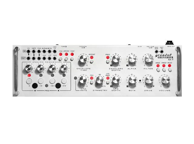 Matrixsynth Grendel Ra 9 Grenadier Semi Modular Synth