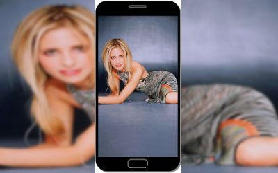 Sarah Michelle Gellar Actrice 2 - Fond d'Écran en QHD pour Mobile