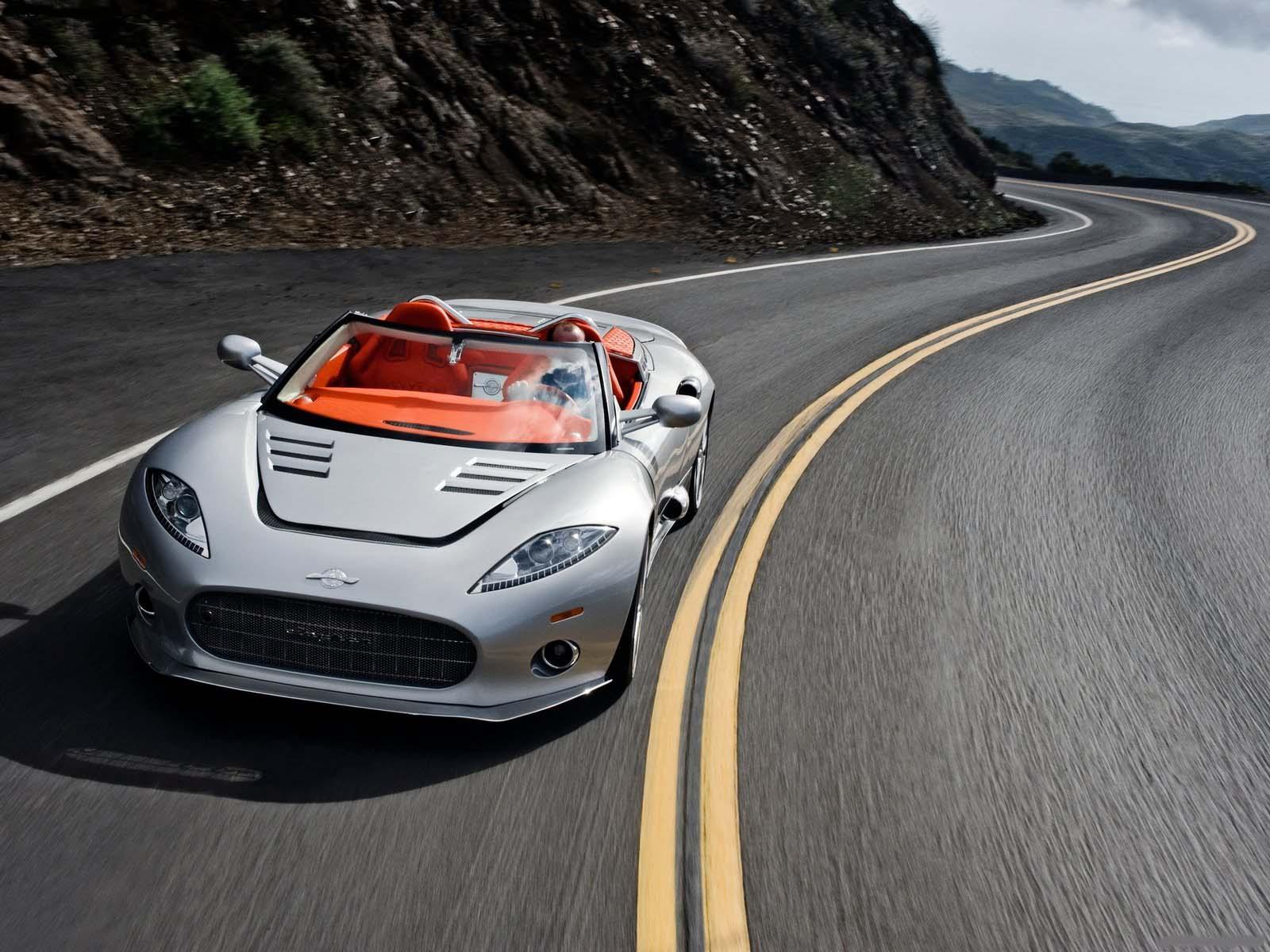 Sport Cars Spyker C8 Aileron Spyder 2010 Nice Car