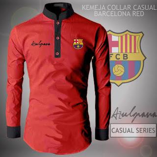 Kemeja Distro Bola Barcelona Barca