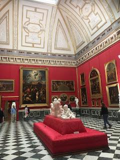 オランジュリー宮殿内部
