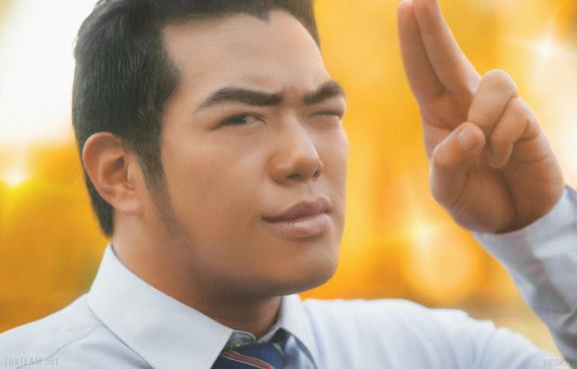 Cosplay Ore Monogatari!! - realny Gouda Takeo w którego wciela się Ishikuma-senpai
