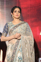 Sri Devi in designer saree stunning beauty at the launch of MOM movie Trailer~  Exclusive 129.JPG