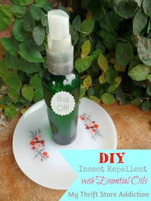 DIY Insect Repellent with essential oils