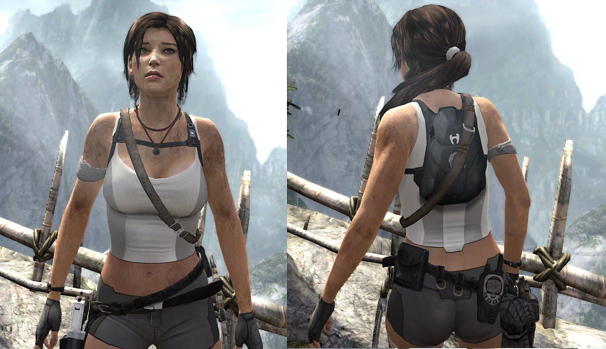 Tomb Raider 2013 Nude mod by ATL v3.0 AVIATRIX - YouTube