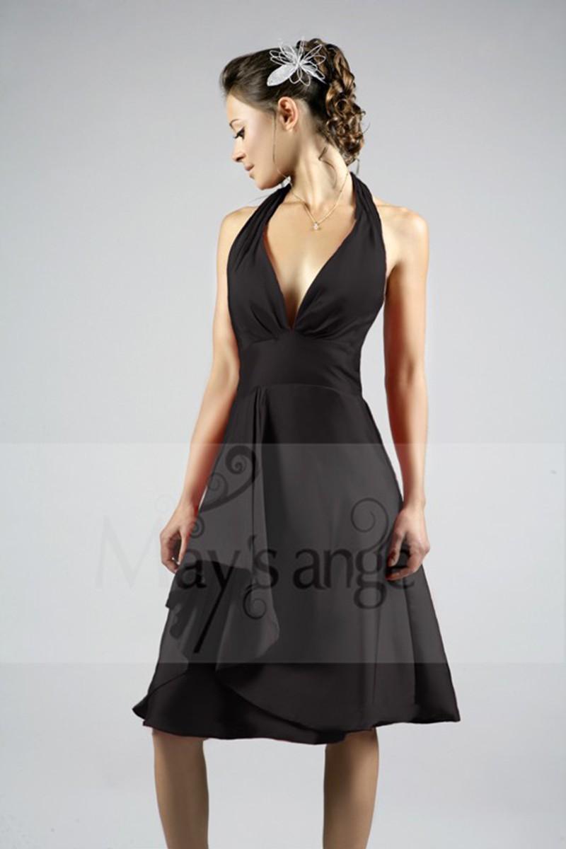 may 39 s ange le blog portez une robe de cocktail noire. Black Bedroom Furniture Sets. Home Design Ideas
