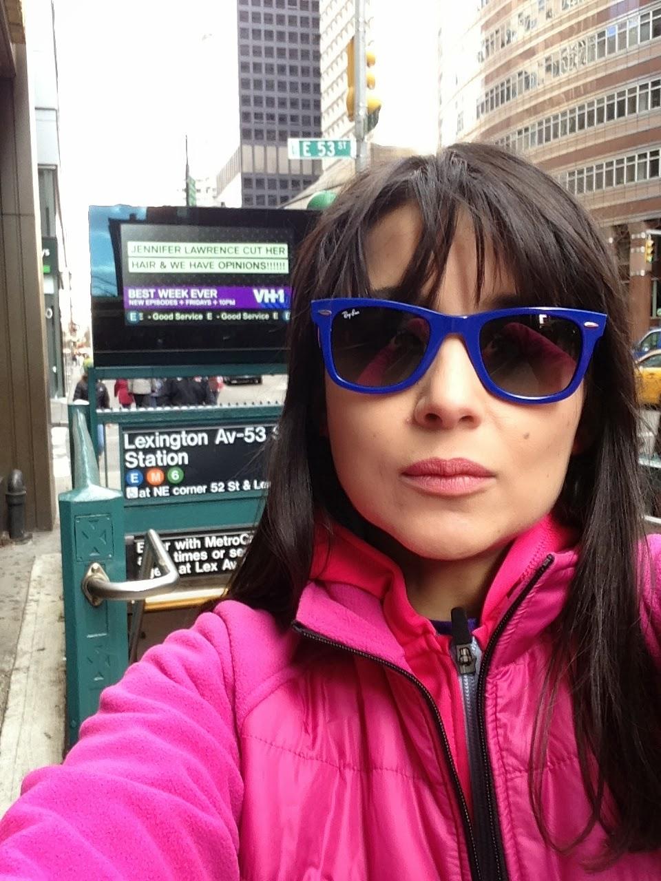 acf57fe912 Con mis Ray-Ban en New York ahora en Noviembre 2013