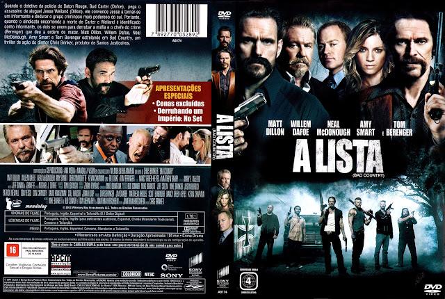 Capa DVD A Lista