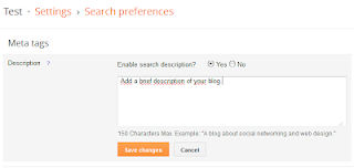 How to add Meta description To Homepage