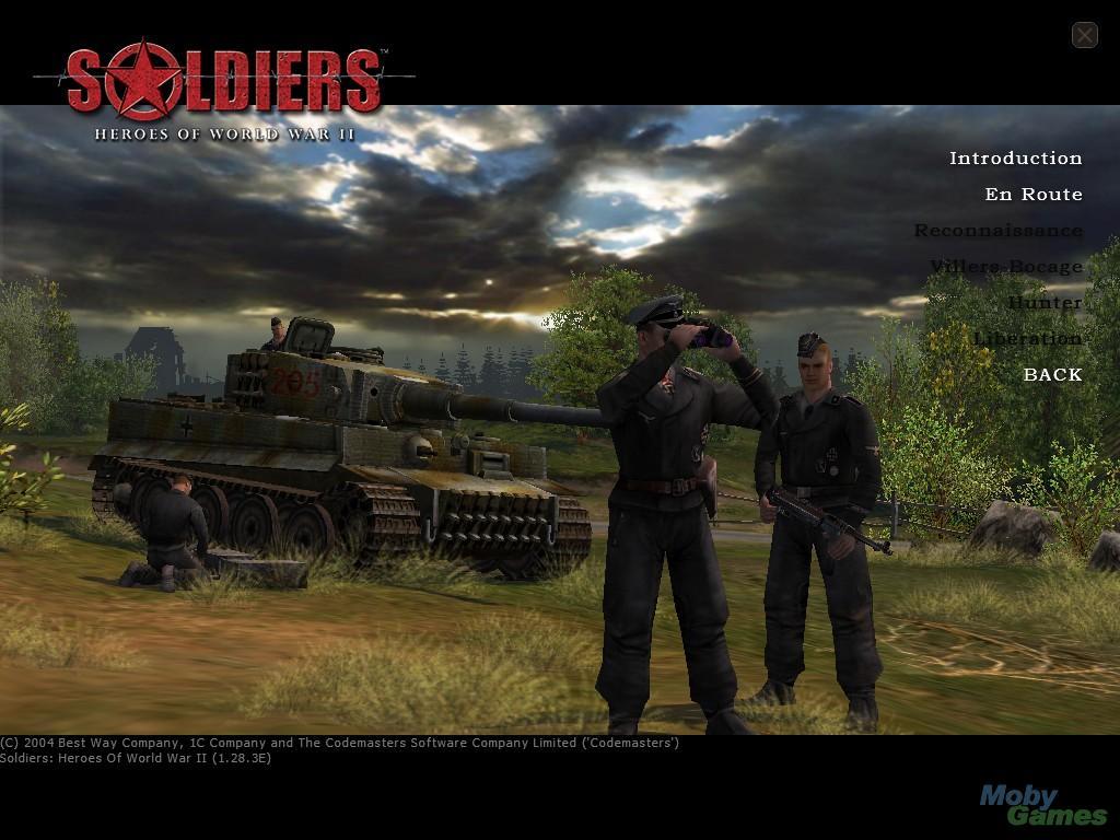 <b>Soldiers: Heroes of World War</b> <b>II</b> PC Walkthrough - The ...