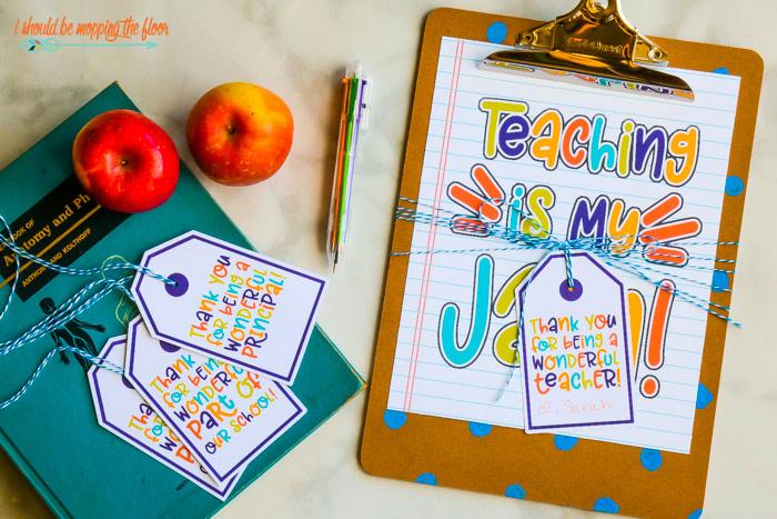 Clipboard Teacher Gift