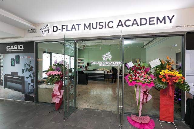 Kelas Piano Dan Gitar Untuk Anak Kami di D-Flat Music Academy