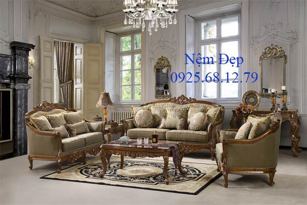 bọc nệm ghế sofa cổ điển